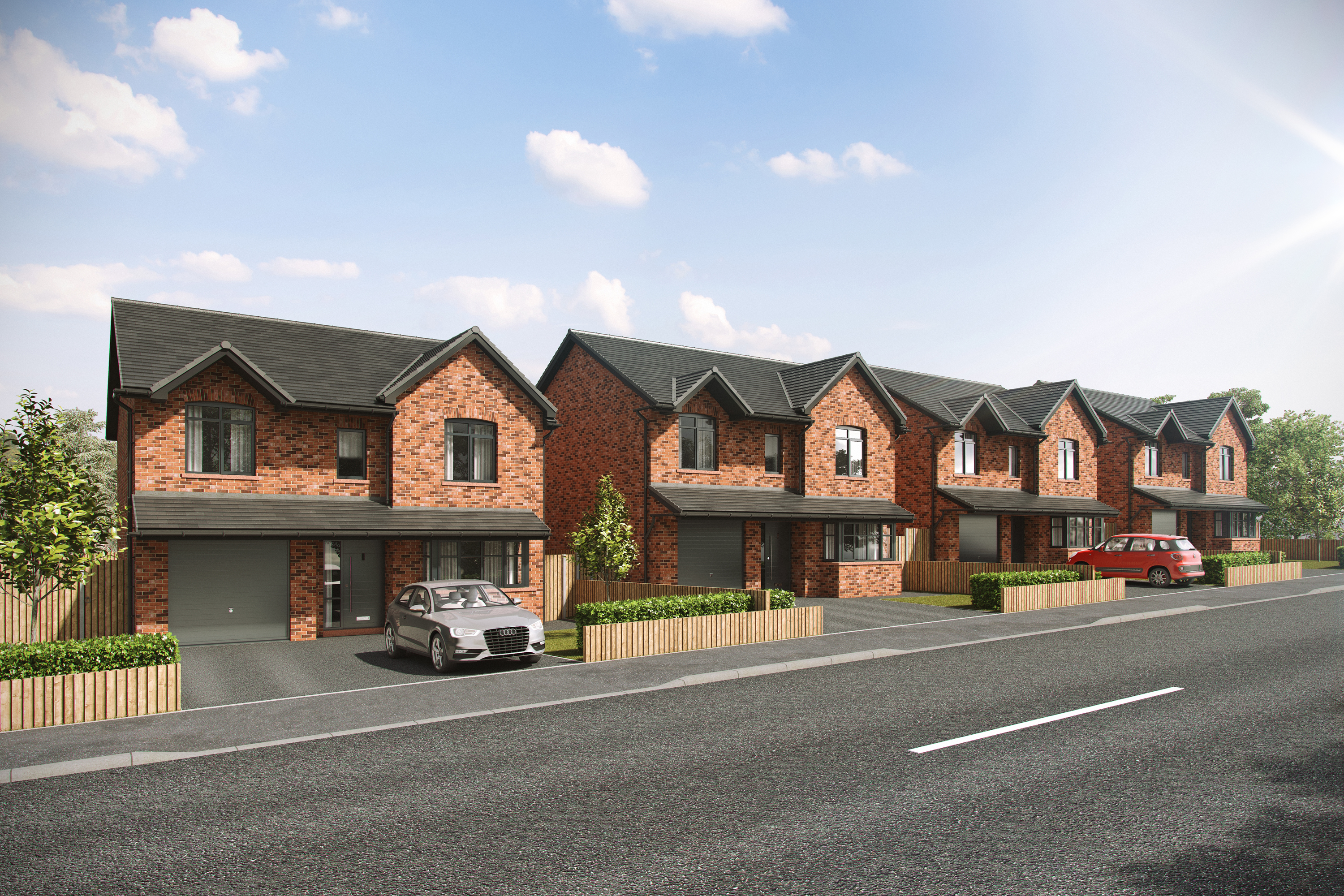 New Homes, Bleak Hill, Windle, Lynton gardens, Henderson Homes