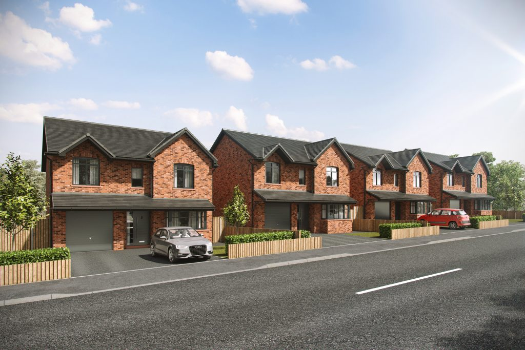 Family Homes, New Homes, Bleak Hill, Windle, Lynton gardens, Henderson Homes