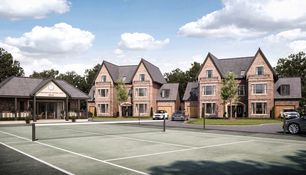 cheadle, new homes, henderson homes, barcheston tennis club